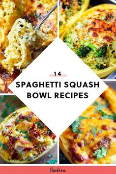 14 Spaghetti Squash Bowls You Need in Your Life #nutrition #healthy #food Courge Spaghetti, Spaghetti Squash, Low Carb Recipes, Cooking Recipes, Healthy Recipes, Cooking Food, Healthy Options, Diabetic Recipes, Stew Chicken Recipe