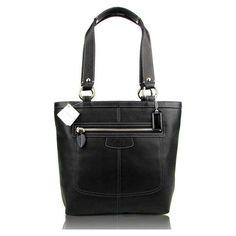 Coach Penelope Lunch Tote Handbag Purse in Black « Clothing Impulse