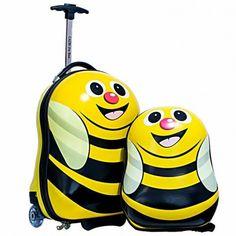 Regalos infantiles - Maletas Viaje niños : Pack Maleta y Mochila Cazbi
