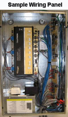 whole house structured wiring networking set ups cabinets rh pinterest com DIY Structured Wiring Leviton Residential Structured Wiring Guide