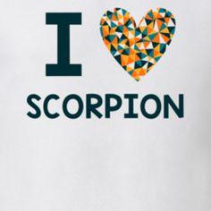 I Love Scorpion Favorite TV Show T Shirt