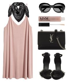 """""""Sunday Funday"""" by baludna ❤ liked on Polyvore featuring Forever 21, MCM, Acne Studios and Yves Saint Laurent"""