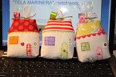 """""""TELA   MARINERA"""", patchwork ...: Casetes de la Cristina"""