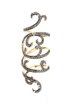"Elisse Dray ""Arabesque"" ring. Source: Colette"