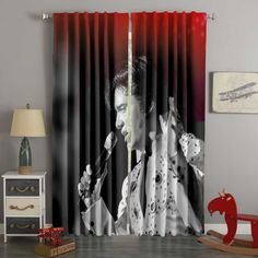 3d Curtains, Custom Curtains, Blackout Curtains, Panel Curtains, Custom Bedding, Elvis Presley Pictures, Back Seat Covers, Baby Winter, 3d Printing