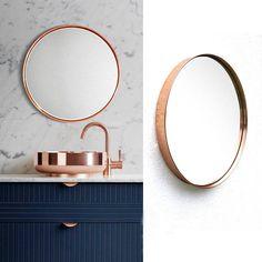 ESPEJO KUARAHY COBRE - Desli   Design Your Life
