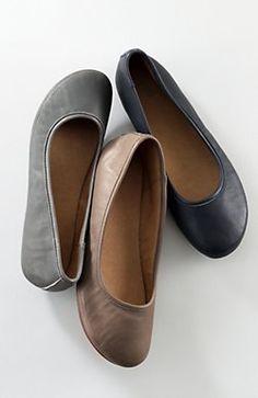 Contoured Ballet Flats