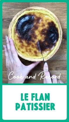 Flan Dessert, Flan Cake, Tart Recipes, Sweet Recipes, Cooking Recipes, No Cook Desserts, Dessert Recipes, Tartelette, Pastry Cake