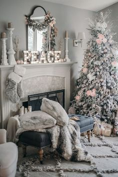 Wunderbar 15 Totally Pin Worthy Holiday Fireplace Mantel Ideas