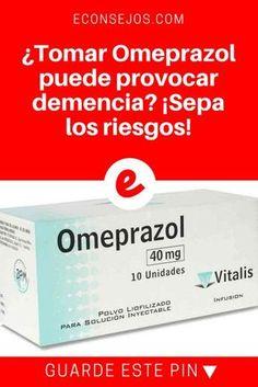 Medicamentos peligrosos   ¿Tomar Omeprazol puede provocar demencia? ¡Sepa los riesgos!   El Omeprazol fue un medicamento que revolucionó el tratamiento de las enfermedades estomacales, pero puede representar un riesgo paea su salud. ¡Infórmese!