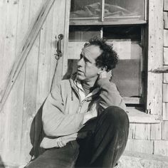 "Robert Frank, [Mabou] Nova Scotia, ca 1971 -by Walker Evans "" Exhibition : 'Walker Evans - Decade by Decade' SK Stiftung Kultur (Köln) - until 20 January 2013 "" from le journal de la photographie Robert Frank, Walker Evans Photography, The Dark Side, Berlin Photos, Cecil Beaton, Photo Report, Robert Doisneau, Great Photographers, Photomontage"