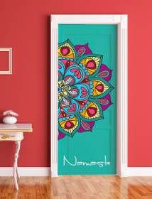 DIY doors with super cool mandalas Deco Cool, Wall Murals, Wall Art, Deco Boheme, Painted Doors, Mandala Art, Painted Furniture, Bedroom Furniture, Bedroom Doors