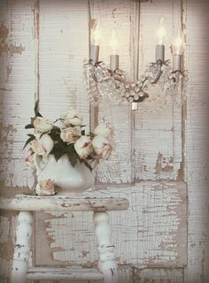 LIA Leuk Interieur Advies/Lovely Interior Advice: Shabby Chic in White