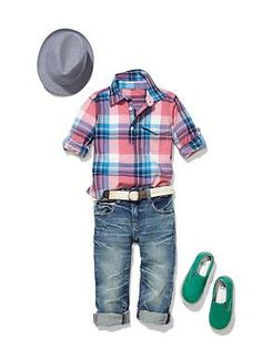 Baby Clothing: Toddler Boy Clothing: Outfits we ♥ New: Spring Break | Gap...as much as I'm hoping for a girl, this right here makes me want a baby boy!