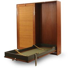 Double Murphy Bed by Hans J. Wegner   From a unique collection of antique and modern beds at http://www.1stdibs.com/furniture/more-furniture-collectibles/beds/