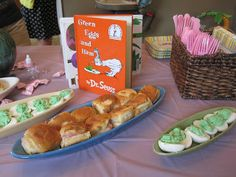 Book themed baby shower - Says the Village Idiot