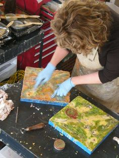 Encaustic Painting, I loved doing this in art school Encaustic Painting, Painting & Drawing, Wax Art, Different Art Styles, Texture Painting, Artist At Work, Art School, Art Tutorials, Art Lessons