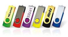 Everyone needs a branded USB drive! Why not get some branded with your logo and give them out to your clients!