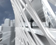 Iwamoto Scott's design for the Edgar Street Towers in Lower Manhattan