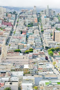 San Francisco  from Telegraphy Hill by Anne-Solange Tardy #Photography #San_Francisco