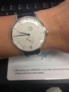 [NOMOS Metro] Souvenir from my trip to Frankfurt. via /r/Watches