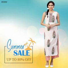 Interesting & unique offers on designer collection of #kurti#kurta#suitset#palazzo#pants#Tops#dresses#ethnicwear#indianwear#indianfashion especially on our website www.jaipurkurti.com