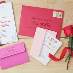 red gold envelope wedding - Penelusuran Google