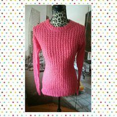 Sweater Pink sweater size medium Rue 21 Sweaters Crew & Scoop Necks