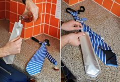 FlaskTie: Now You Can Wear Your Tie and Drink From It, Too