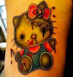 Top 15 Hello Kitty Tattoo Designs