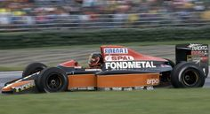 Olivier Grouillard - Osella FA1ME - 1990Google