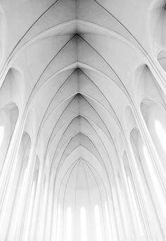 Iceland - Reykjavik: Modern Goth  The modern, gothic styled church, Hallgrimskirkja, dominates the Reykjavik skyline and is the capital's most well known landmark.