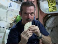 Chris Hadfield: Space Chef In Chief : NPR
