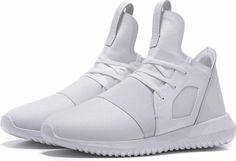 Adidas Tubular Defiant Sneakers in Core White as seen on Kendall Jenner