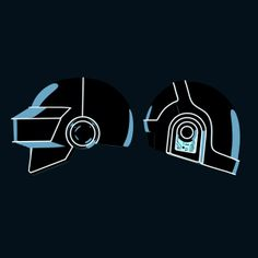 Daft Punk Tribute by Ion, via Behance