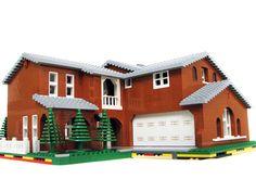 Lego Orange House