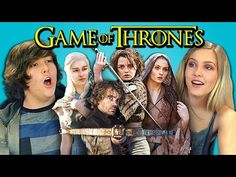 TEENS REACT TO GAME OF THRONES