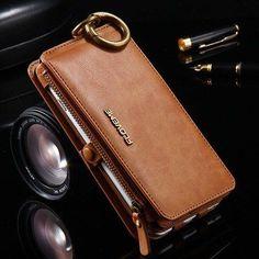 Floveme Vintage Folded HandBag Wallet Case for iPhone SE 5S 5C