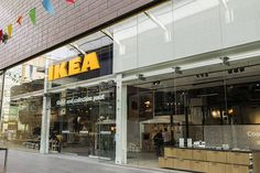 Ikea has in recent years begun to make  a more clear effort online, and has begun a trend that we could see many large retailers follow, Click-and-collect stores, locations where consumers can pick up ordered supplies, free of shipping or shop a select sample of show floor items, as well as creating cafes and having deign specialist on site for kitchen renovations. I think that this new form of shopping is extremely innovative and we could see more retailers move to this format. David B…