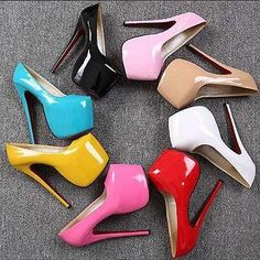 Womens Super High Heel Stilettos Platform Pumps Nightclub Sandals Party Shoes Sz