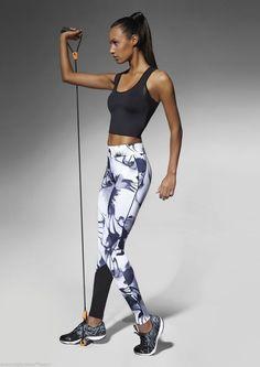Leggings pantalon caleçon bas de sport femme fitness footing BAS BLEU calypso Legging Sport, Sports Leggings, Sport Style, Sport Fashion, Fitness Fashion, Fitness Outfits, Moda Fitness, Sport Wear, Workout Wear
