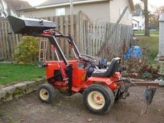 Marvelous Homemade Case/Ingersoll Front End Loader   Lawn Mower Forums : Lawnmower  Reviews, Repair