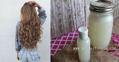 Shampoo caseiro hidratante para cabelos cacheados e crespos com leite de coco. Hidrata os cachos e nutre profundamente. Cachos definidos e macios.