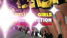 VALLELUNGA autodrome with YELLOW UMBRELLA GIRLS