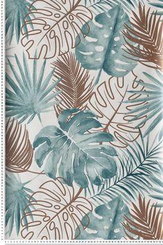 Iphone Wallpaper Paint, Wallpaper Backgrounds, Wallpaper Jungle, Art Et Nature, Neutral Wallpaper, Wall Collage, Wall Art, Decoupage Printables, Leaf Art
