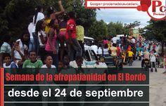 Del 24 al 27 de septiembre se cumplirá la quinta semana de la afropatianidad en la ciudad de El Bordo al sur del Cauca. [http://www.proclamadelcauca.com/2014/09/semana-de-la-afropatianidad-en-el-bordo-desde-el-24-de-septiembre.html]
