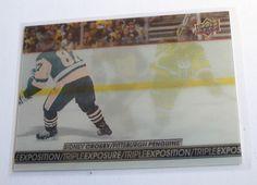 2017-18 Sidney Crosby Tim Hortons Triple Exposure UD NHL Hockey Card - #TE-1