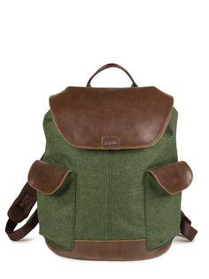 Zwei Mademoiselle.m Rucksack Rucksack Laptoptasche Tasche Nubuk-petrol Grün Attraktive Mode Reisen Büro & Schreibwaren