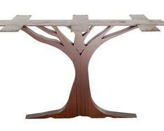 Metal Table Legs (Oak Tree)