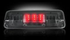 RECON Part # 264124BK Ford 04-08 F150 & Explorer Sport Trac 06-10 - Red LED 3rd Brake Light Kit w/ White LED Cargo Lights - Smoked Lens